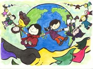 宮里さん 地球を回る子どもたち