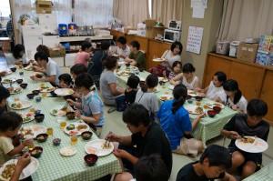 7月28日 (昼食タコライス) (2)