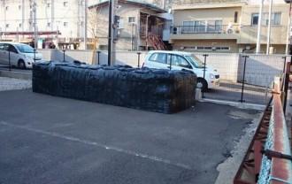 福島市内 除染土