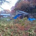 佐藤さん宅と炭窯