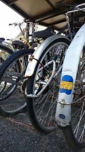 小高駅前自転車