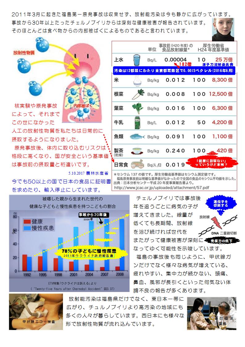 内部被曝・健康被害【解説】